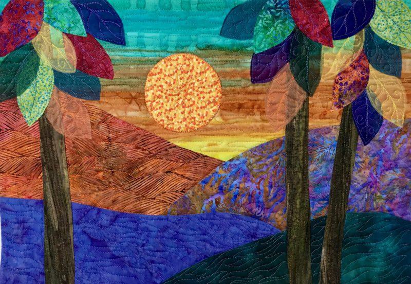artful quilting landscape 1
