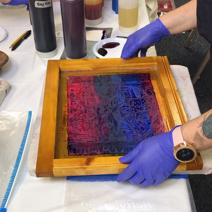 Lisa Reber - fabric dyeing techniques