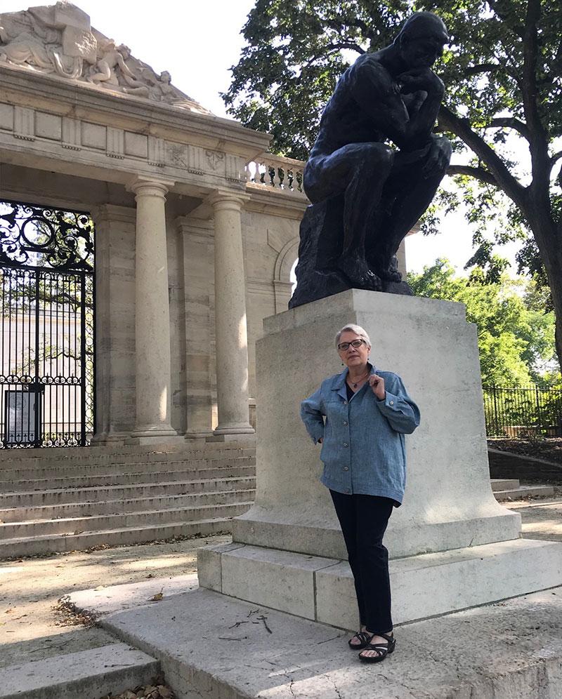 linen jacket Rodin